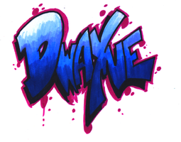 Graffiti Name Tag-1 by Orbcreation