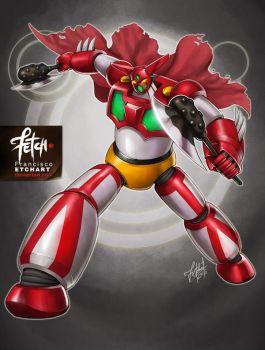 9/32 Robots / GETTER ONE by FranciscoETCHART