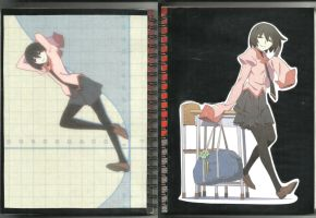 The Ougi Oshino Notebook by SIR-LANIED94