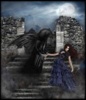 My Sweet Dark Angel... by SlientSweetSerenity