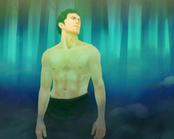 Zoro in forest by Excel-K