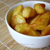 Homemade Oven Chips (+recipe) by claremanson