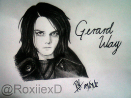 Gerard Way by RoselinEstephania