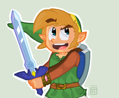 A Link Between Worlds by trekToons