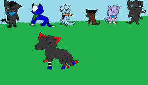 A group photo by Demonthewolf456789