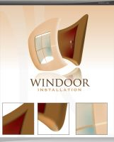 windoor logo by sameer