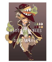 DEMI-EATER ADOPTABLE [CLOSED] by bloodcube