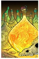 Phoenix in a bottle by travisJhanson