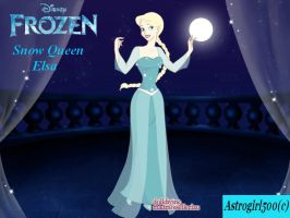 DollDivine - Elsa the Snow Queen by Astrogirl500