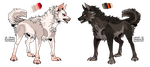 Adopts - Flatsale ( CLOSED ) by Huskiewolf