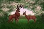 Disney Weddings: Bambi and Faline by Valvador
