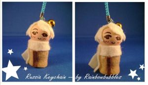 APH Russia keychain by Rainbowbubbles