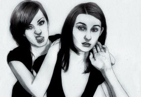 justine and suzii_02 by itsajackal