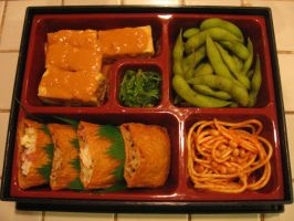 Soy Lunch by sake-bento