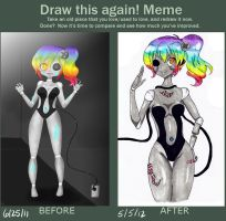 Draw This Again Challenge (reupload) by Appleminte