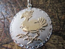 Final Fantasy Chocobo Pendant - 2 by Silverthink