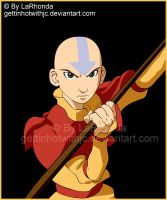 Avatar Aang by MissKingdomVII