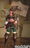 SFTK PC Julia Alt. Costume backport from xbox360 by moddah