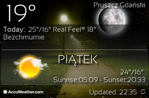 [4x2] Real Weather Background Screen by Slavoo123