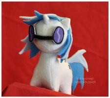 Commission - MLP - Itsy-Pony Vinyl Scratch V2 by mihoyonagi