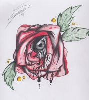 Flash Drawings: Roses by CapnSavy