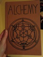 Alchemy Book by MayaAtMidnight