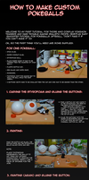 Cosplay tutorial: Pokeball by H-StallionWolf