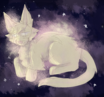 Space Cat by Frudies