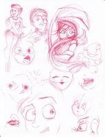 3am Doodles by UnderCoverCottonswab