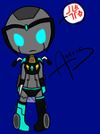 Chibi 1 - Axtris ::color:: by QuinnyBot