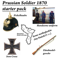 Prussian soldier 1870 starter pack by Arminius1871