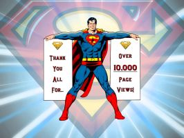 10,000 Page Views! by Superman8193