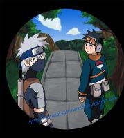 KakashiObito- Caught on Camera by BotanofSpiritWorld