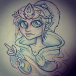 Elf Princess by CraftyTibbles