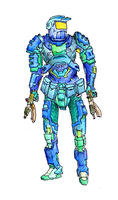 Combat armor by egeres