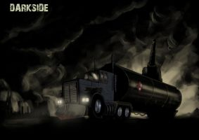 Darkside redux concept\fan art by Helios437