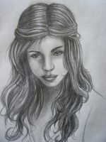 Portrait Sketch by Malla13