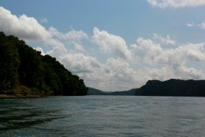 Boating in Tennessee 3 by RiaBunnie