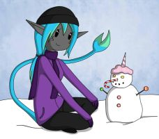 Fallon and the Candy Snowman by AlwaysForeverHailey