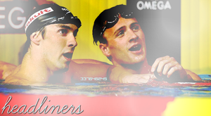 Phelps and Lochte by yessireebob20
