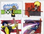 sketch cards dangerous divas37 by TomKellyART