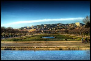 Parc Borely Marseille HDR by fireoyster