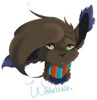 Winterblaze Badge Thing by EeveeHop