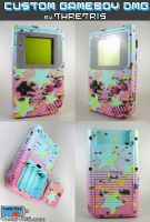 Custom Gameboy CMYK Stars by Thretris