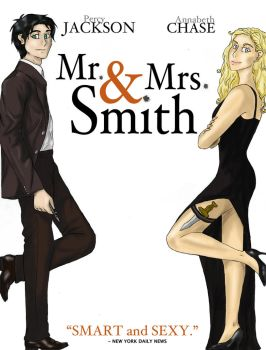 Mr. and Mrs. smith-Percy Jackson by M-Iris
