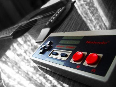 Vintage Gaming by FATALxFRAME