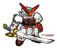 SD Astray Red Frame by MobileSuitGio