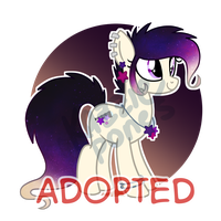 Galaxy Pony Auction [CLOSED] by Kazziepones