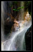 Hareshaw Linn Waterfall 4 by newcastlemale