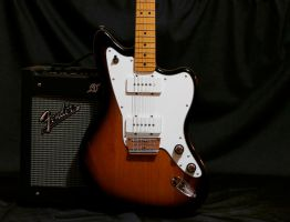Squier Vintage Modified Jazzmaster by blue-bullet